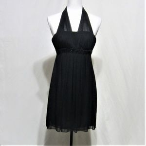 Sweet Storm, Small, Black Party Dress, Halter top